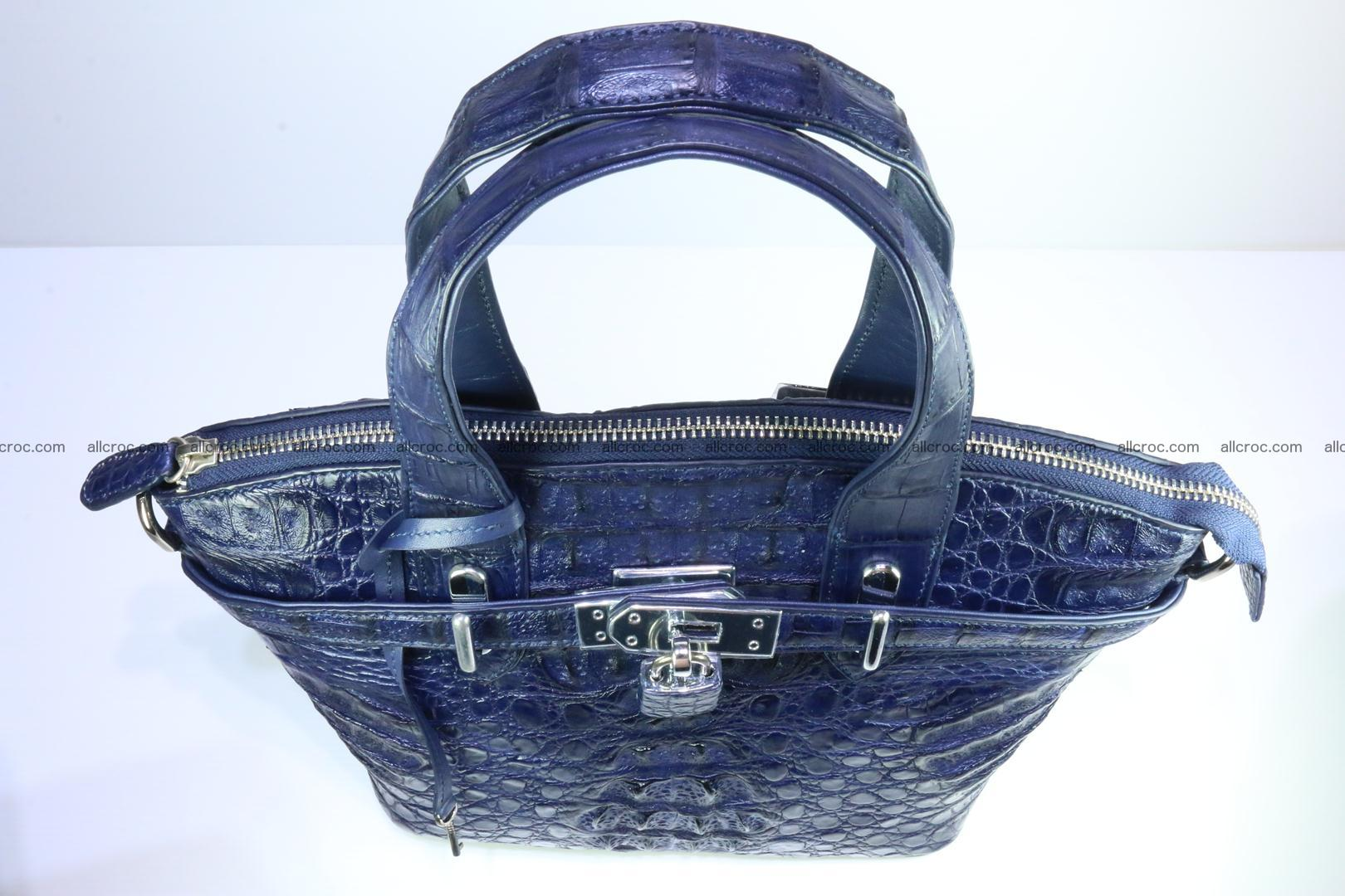 Genuine crocodile handbag for ladies 048 Foto 6