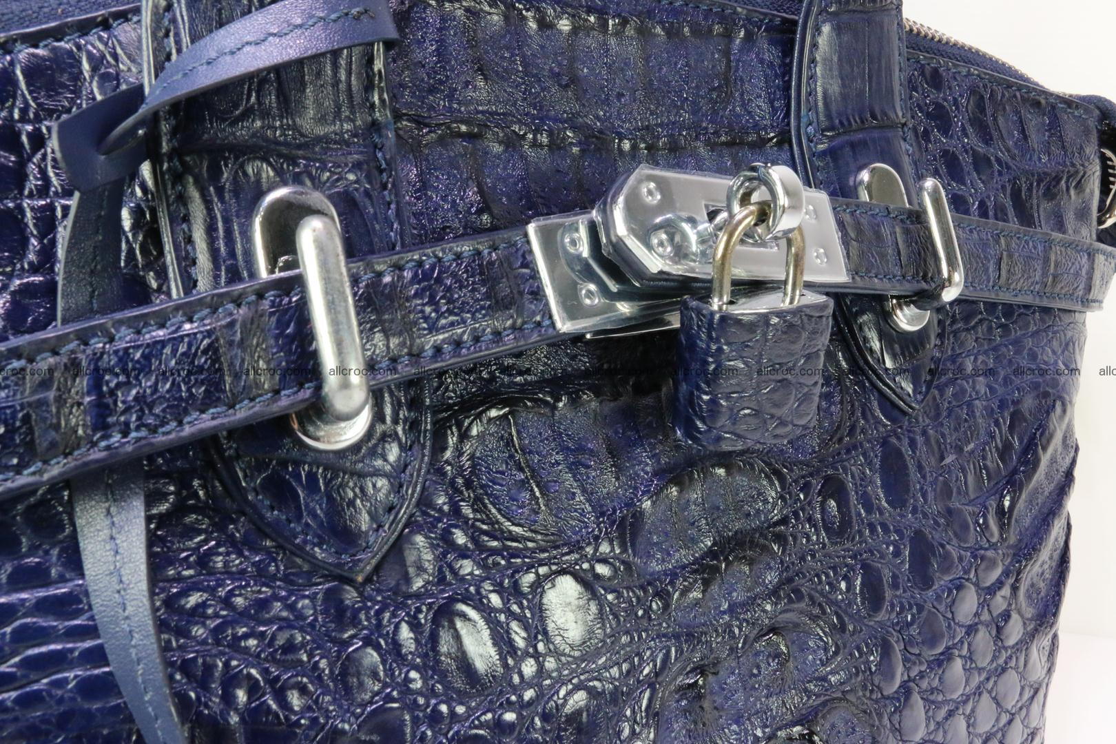 Genuine crocodile handbag for ladies 048 Foto 8