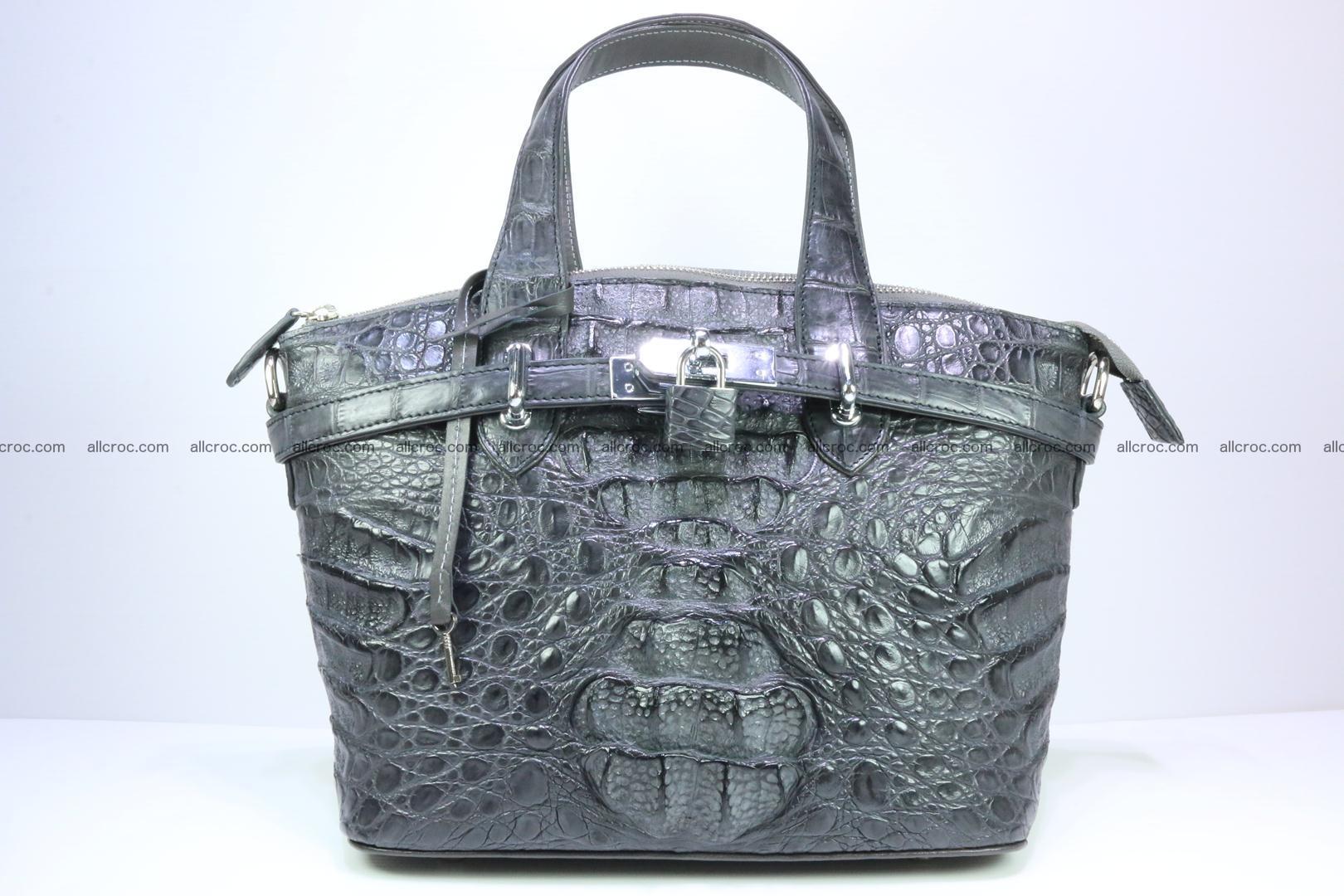 Genuine crocodile handbag for ladies 049 Foto 0