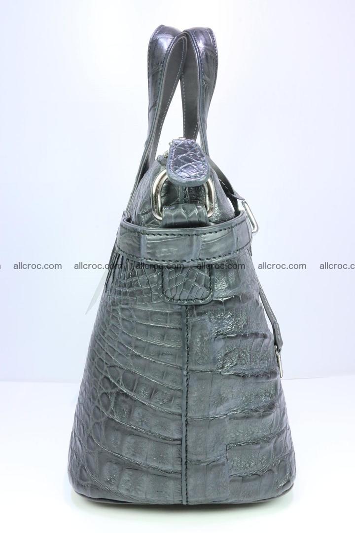 Genuine crocodile handbag for ladies 049 Foto 3