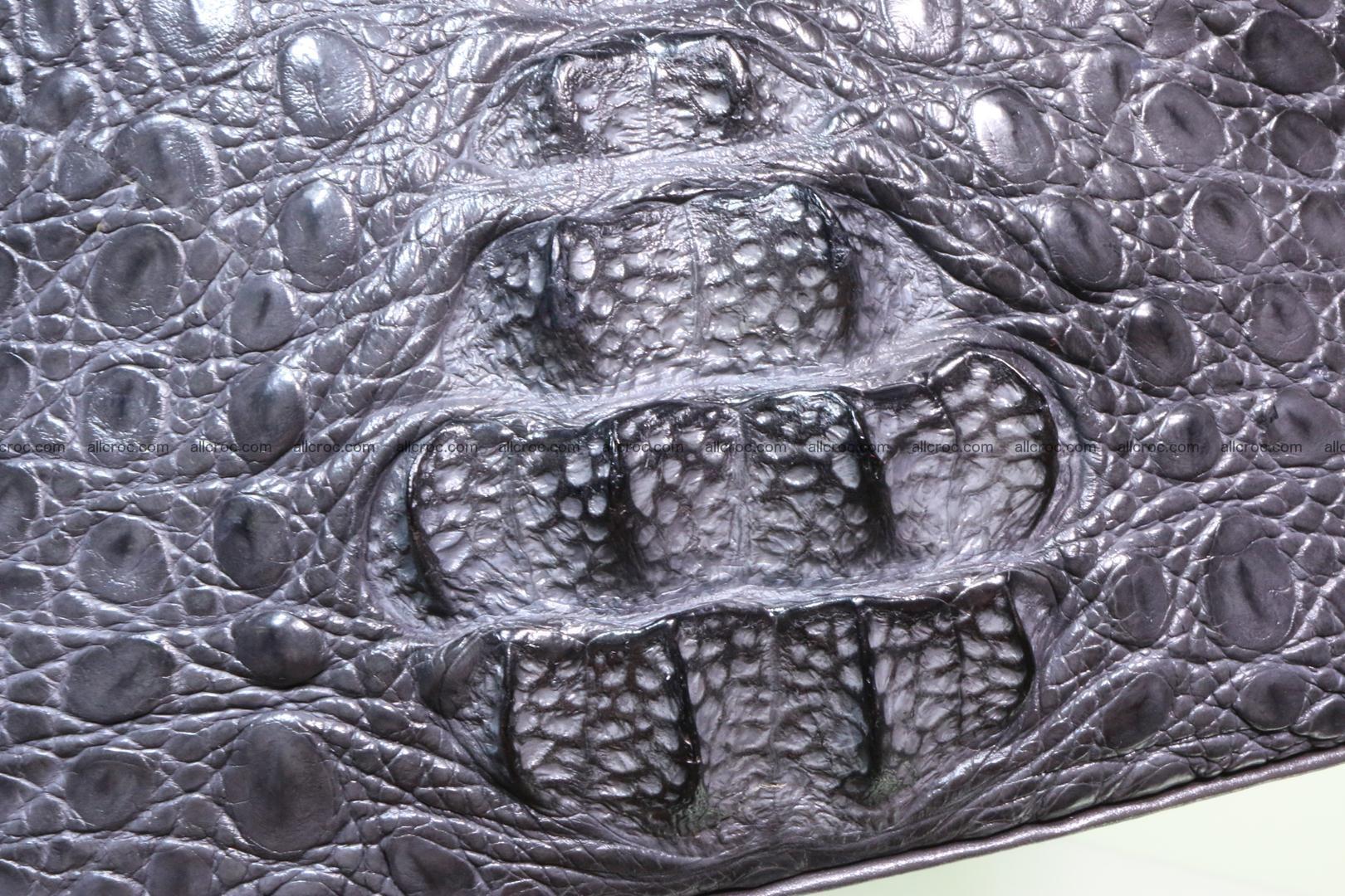 Genuine crocodile handbag for ladies 049 Foto 7