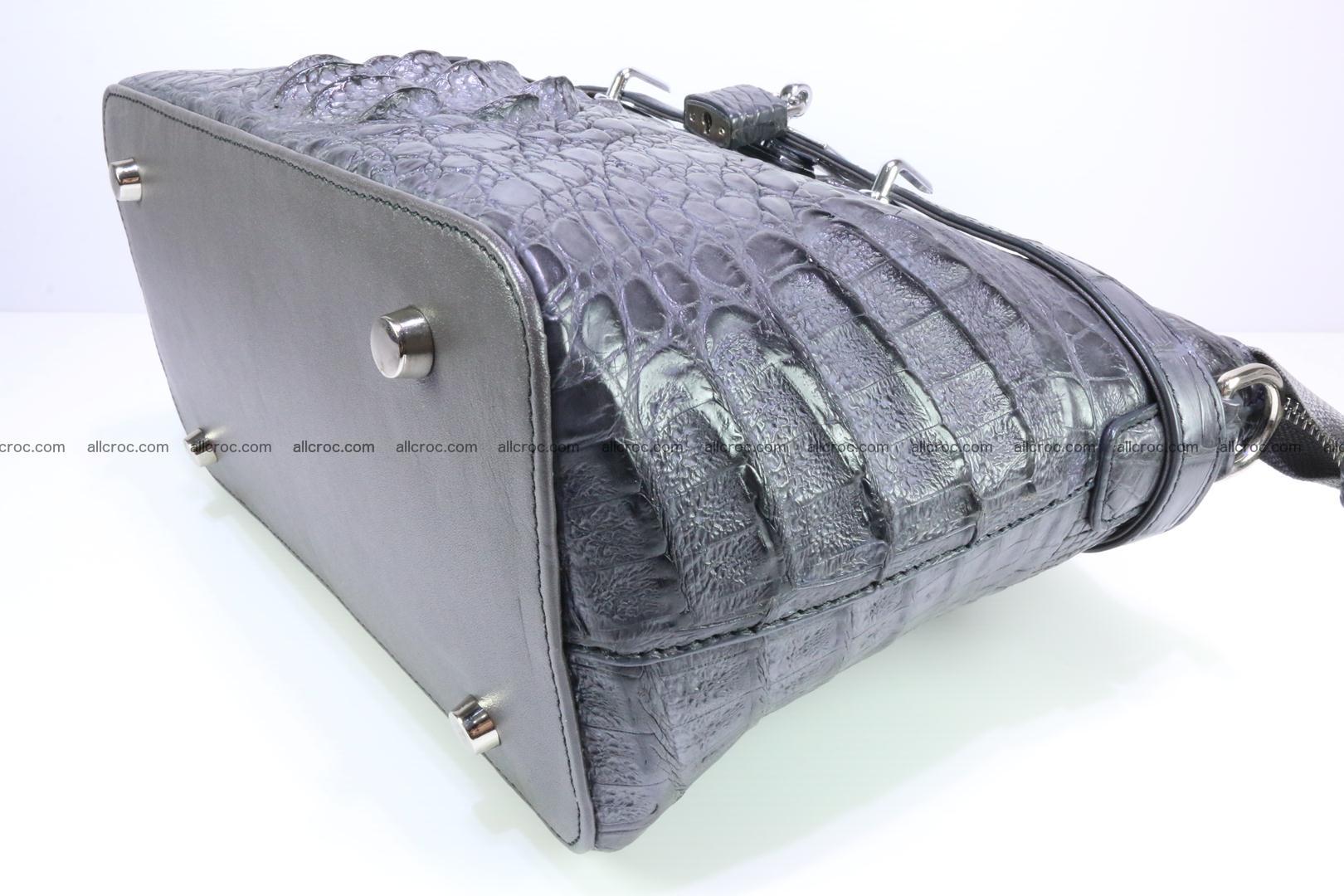 Genuine crocodile handbag for ladies 049 Foto 11