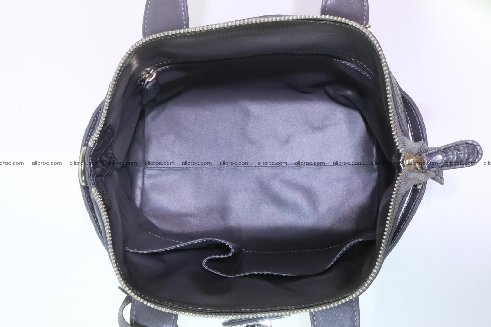 Genuine crocodile handbag for ladies 049 Foto 13