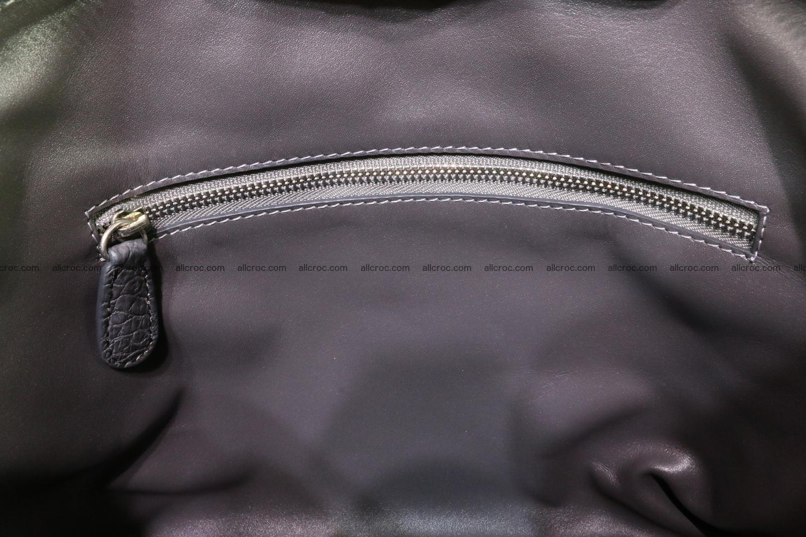 Genuine crocodile handbag for ladies 049 Foto 15