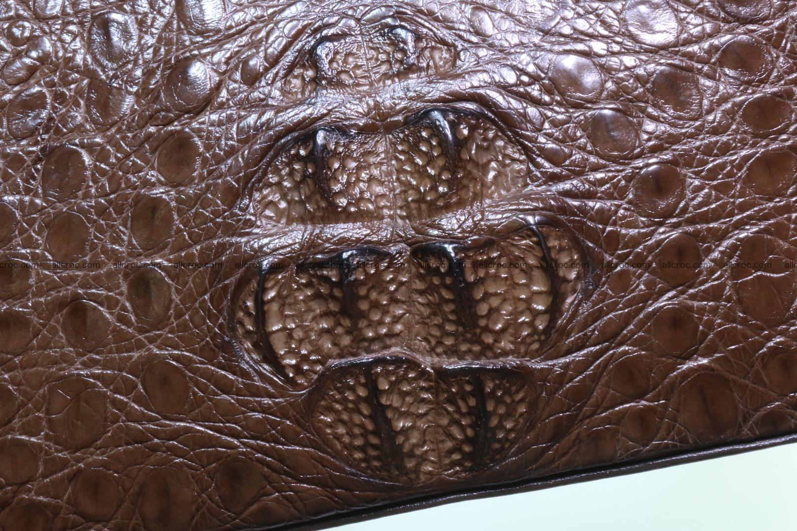 Genuine crocodile handbag for ladies 050 Foto 7