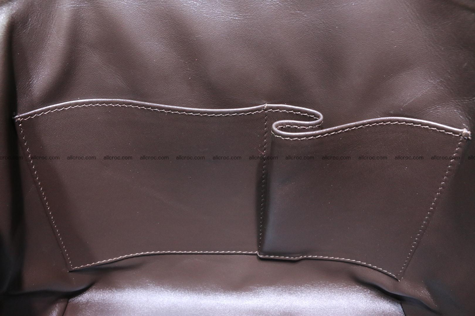 Genuine crocodile handbag for ladies 050 Foto 15