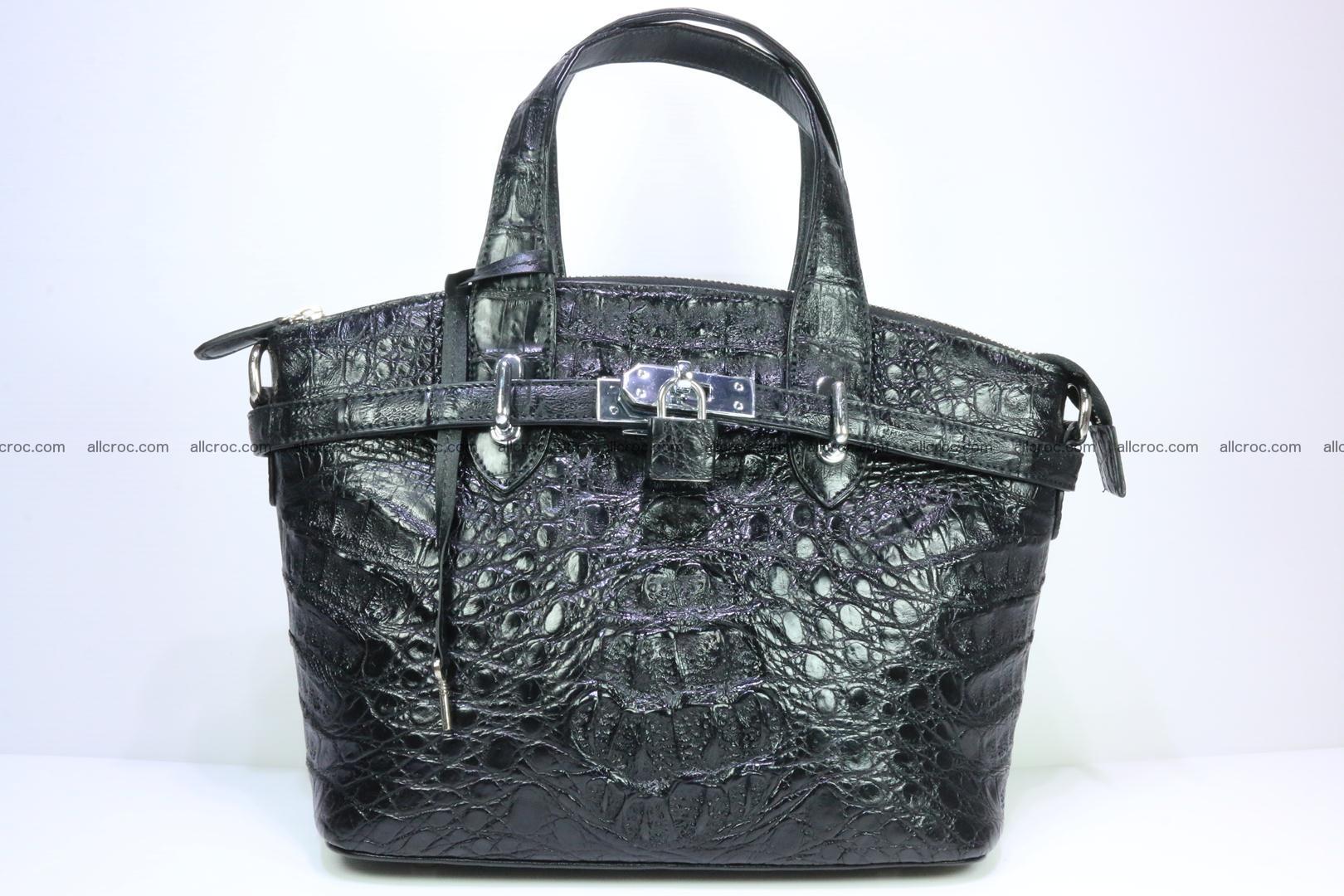 Genuine crocodile handbag for ladies 051 Foto 0