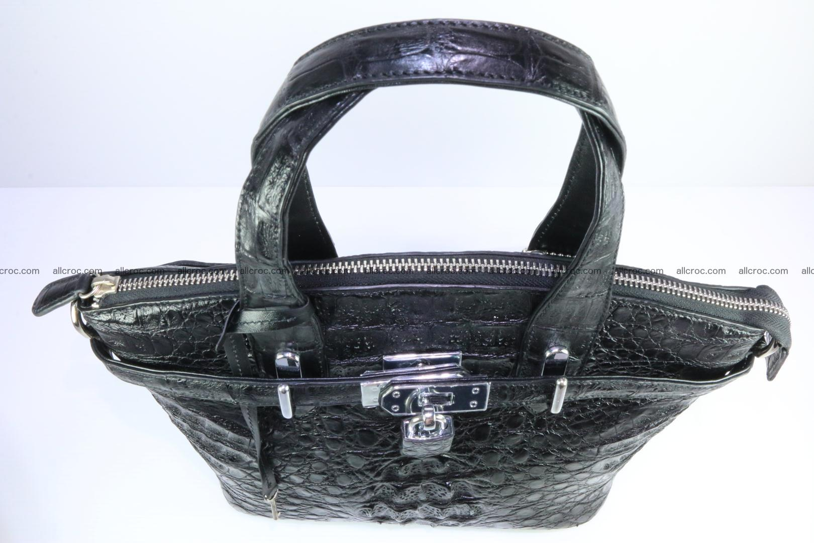 Genuine crocodile handbag for ladies 051 Foto 6