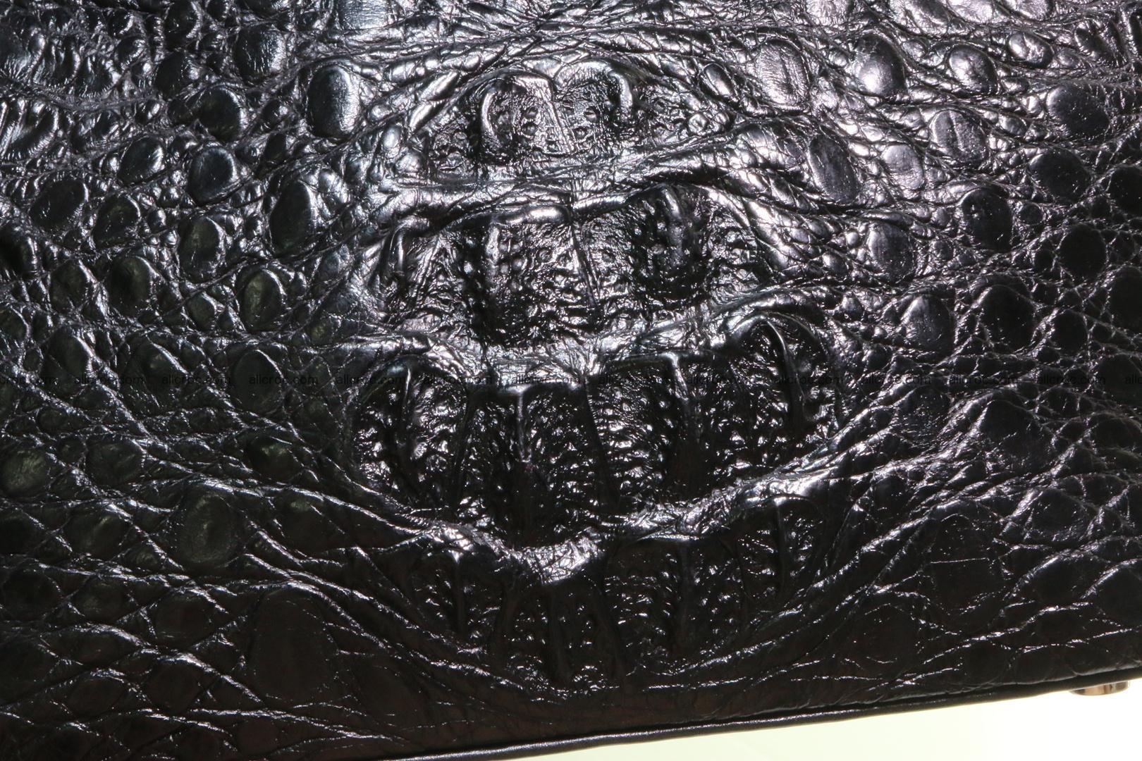 Genuine crocodile handbag for ladies 051 Foto 7