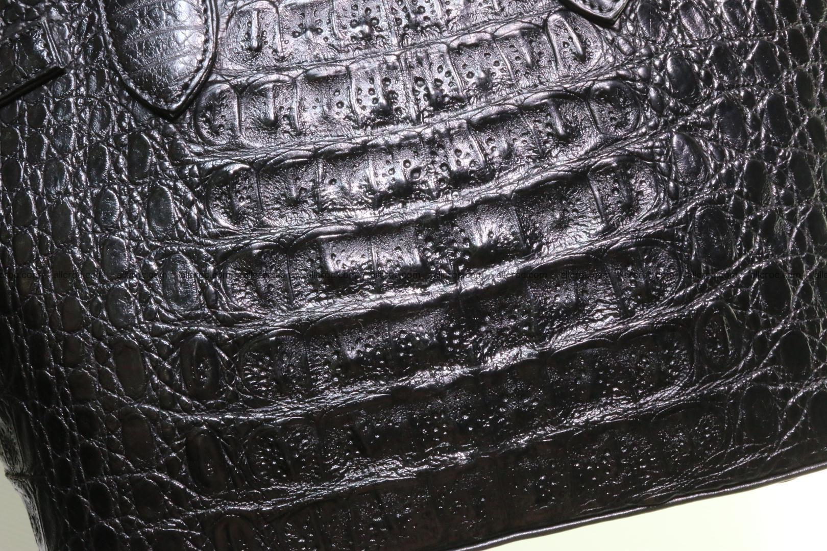 Genuine crocodile handbag for ladies 051 Foto 9