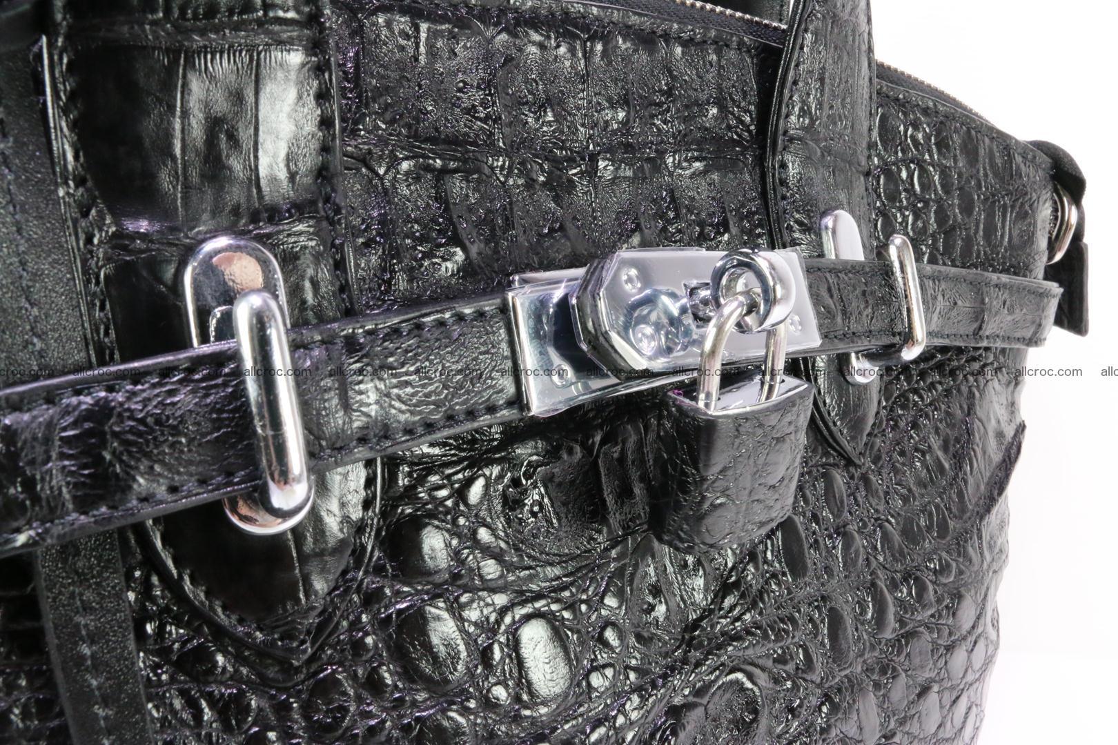 Genuine crocodile handbag for ladies 051 Foto 8