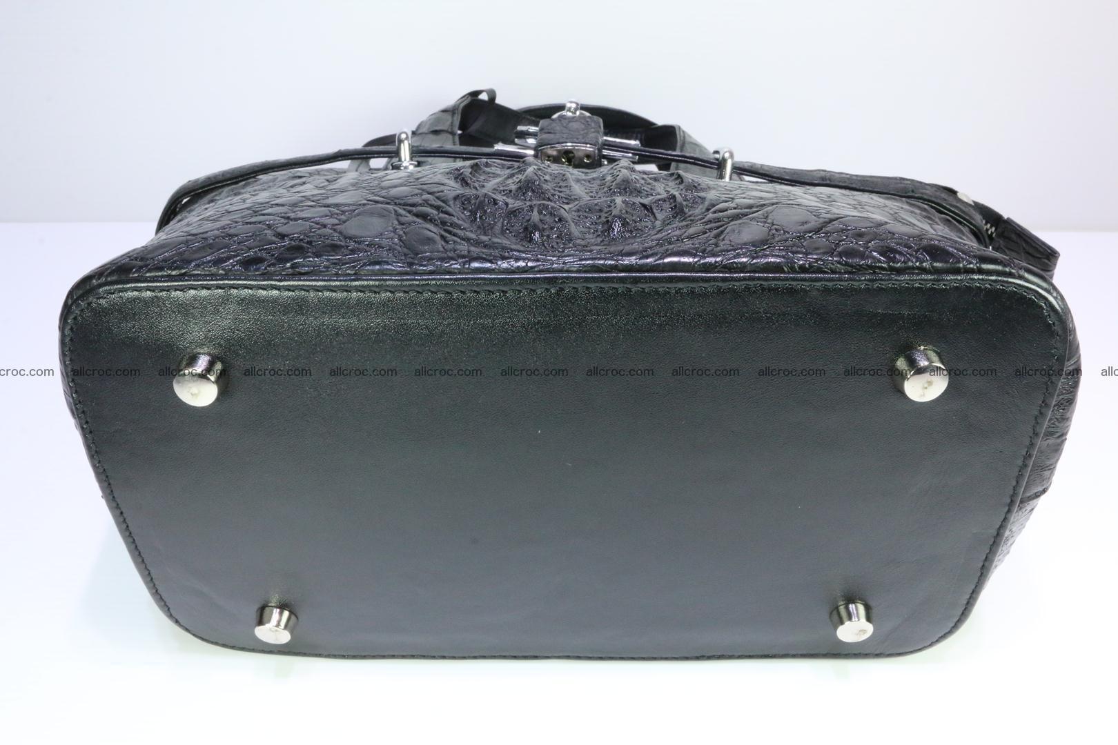 Genuine crocodile handbag for ladies 051 Foto 12