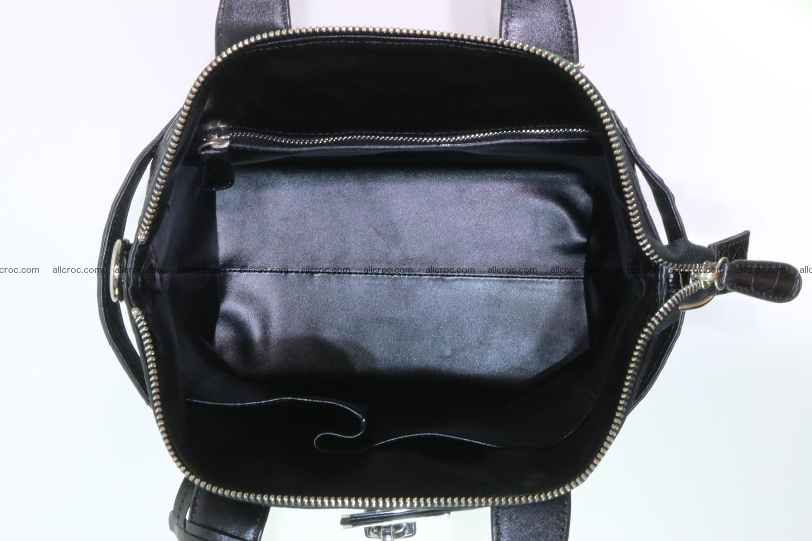 Genuine crocodile handbag for ladies 051 Foto 13