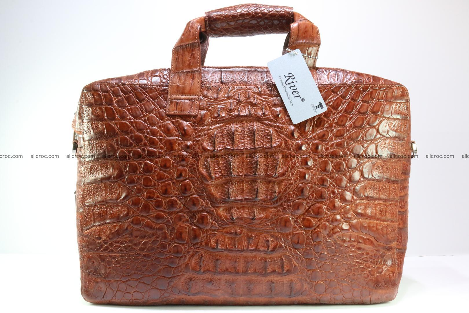 Crocodile skin handbag 125 Foto 0