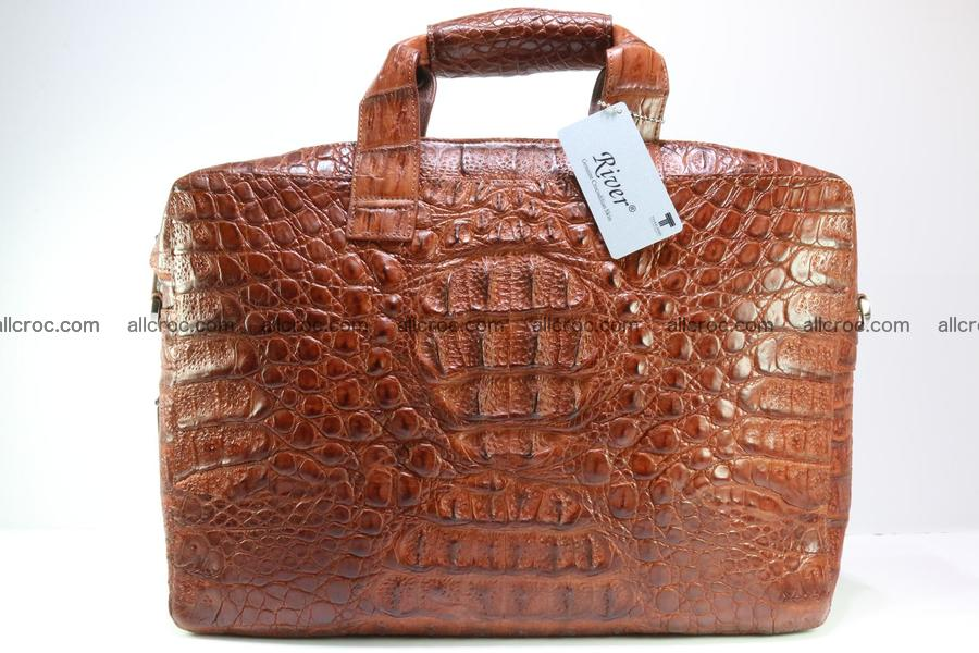 Genuine crocodile handbag for men 125