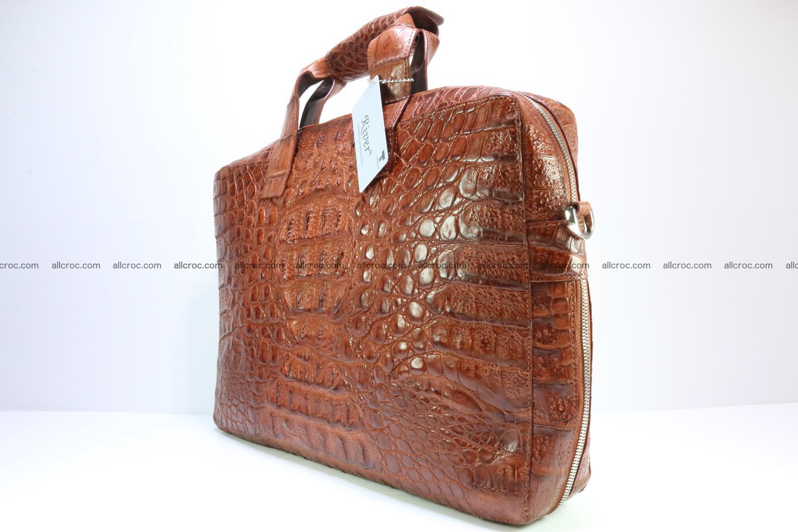 Crocodile skin handbag 125 Foto 3