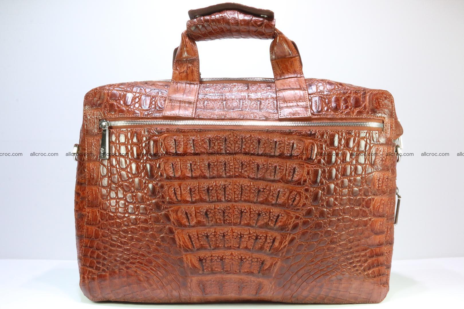Crocodile skin handbag 125 Foto 1