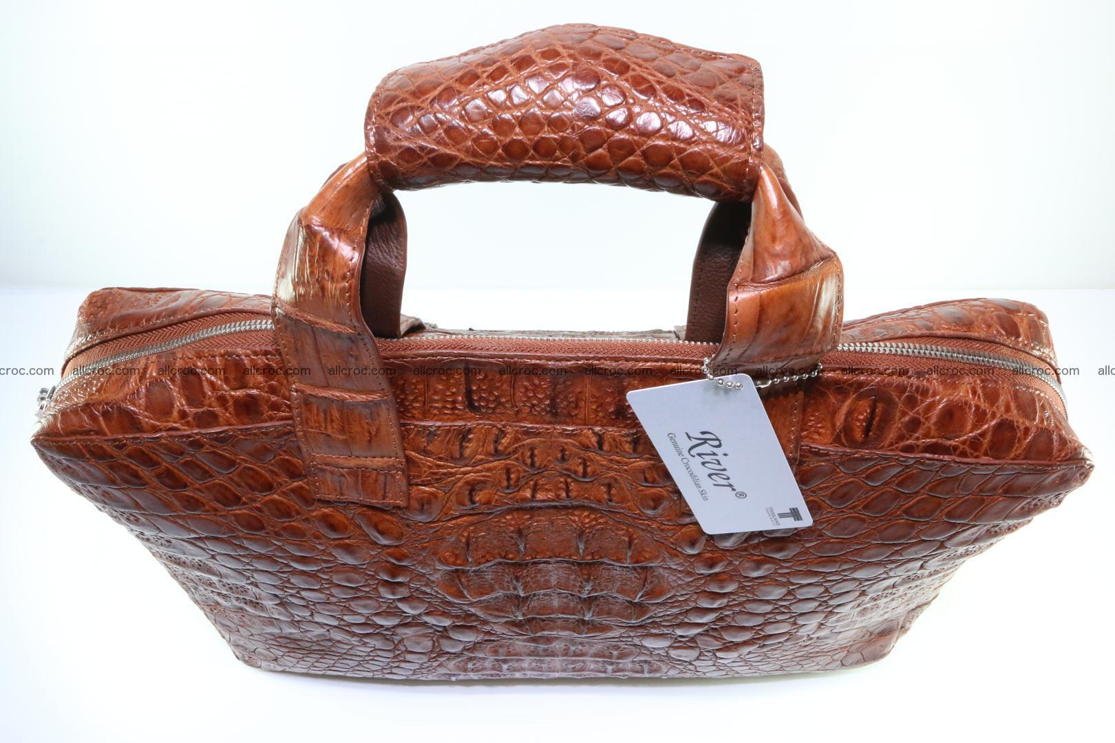Crocodile skin handbag 125 Foto 7