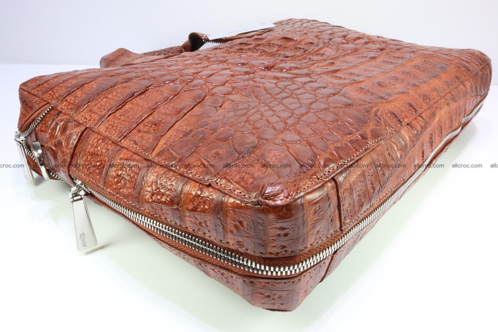 Crocodile skin handbag 125 Foto 10
