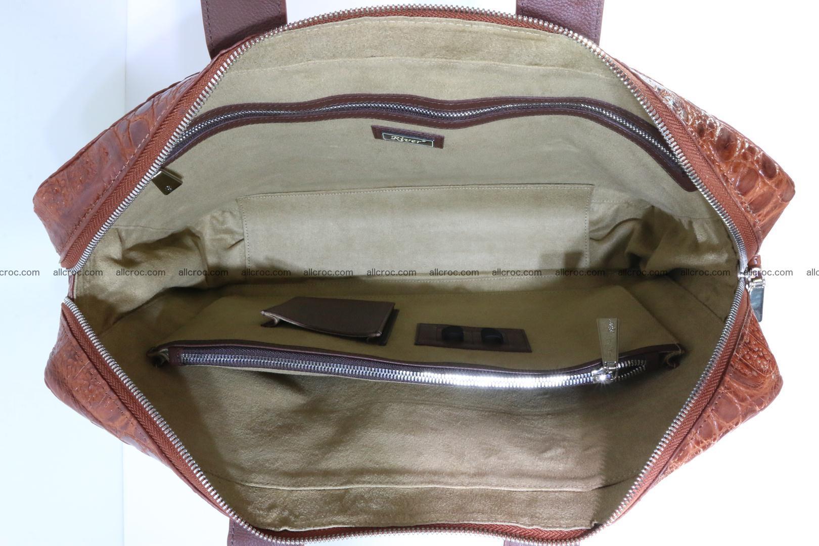 Crocodile skin handbag 125 Foto 12