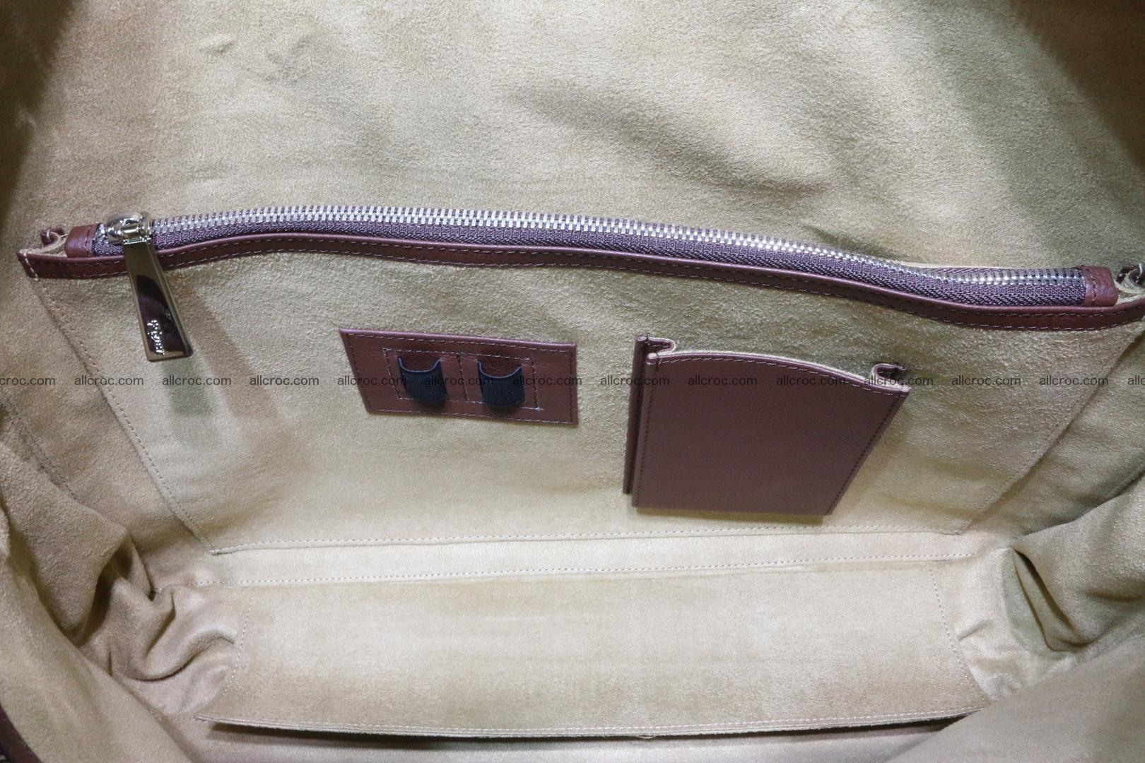 Crocodile skin handbag 125 Foto 13