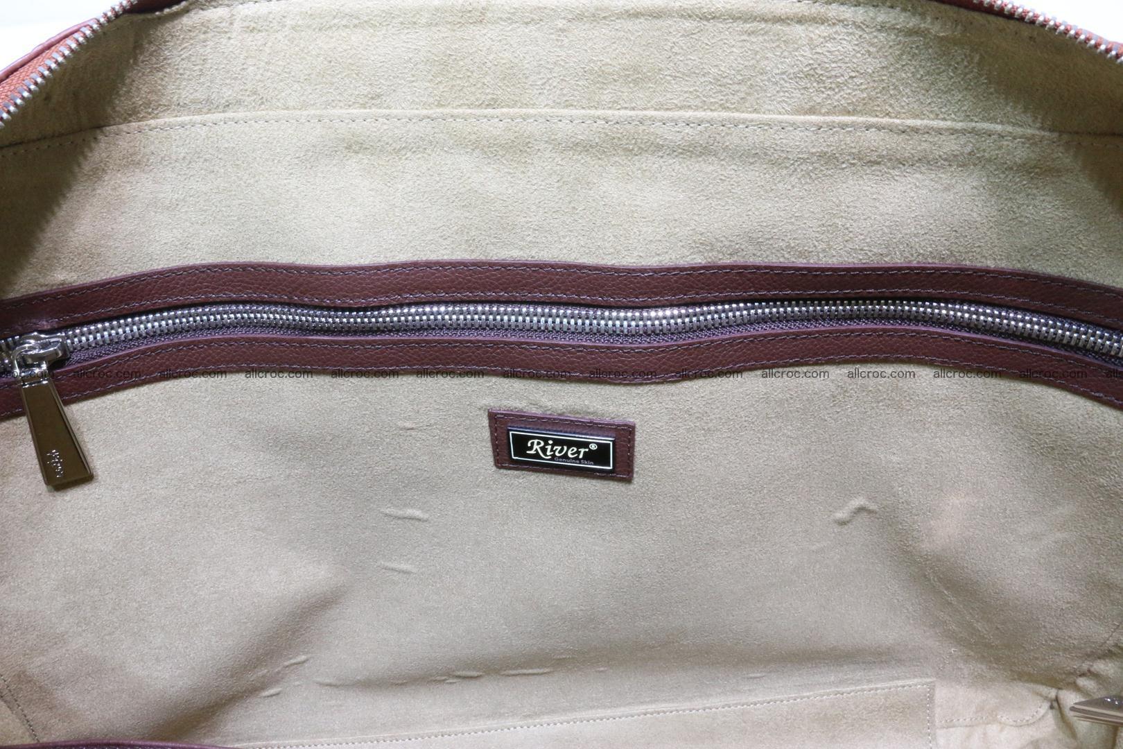 Crocodile skin handbag 125 Foto 14