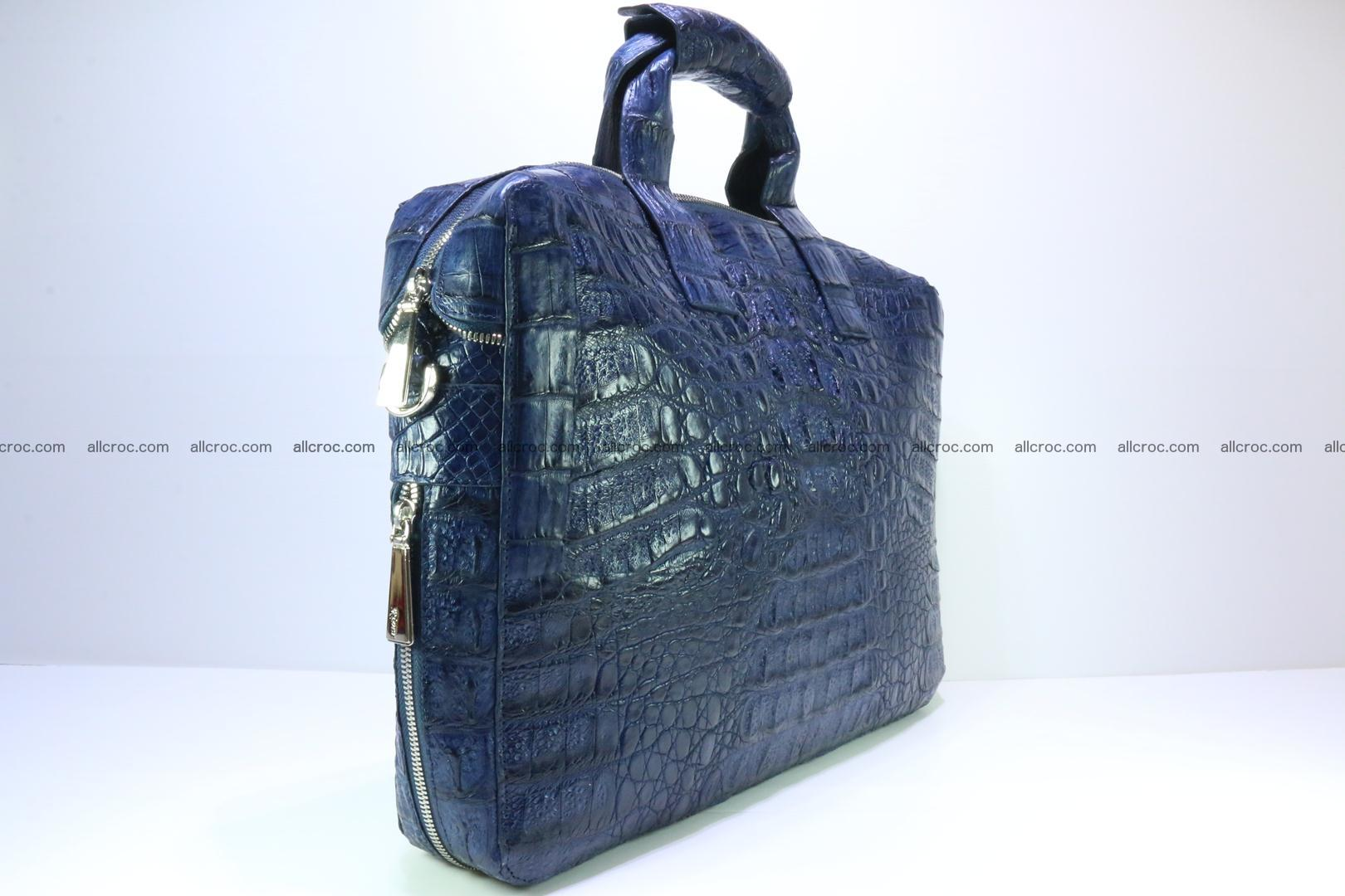 Crocodile skin handbag 423 Foto 1