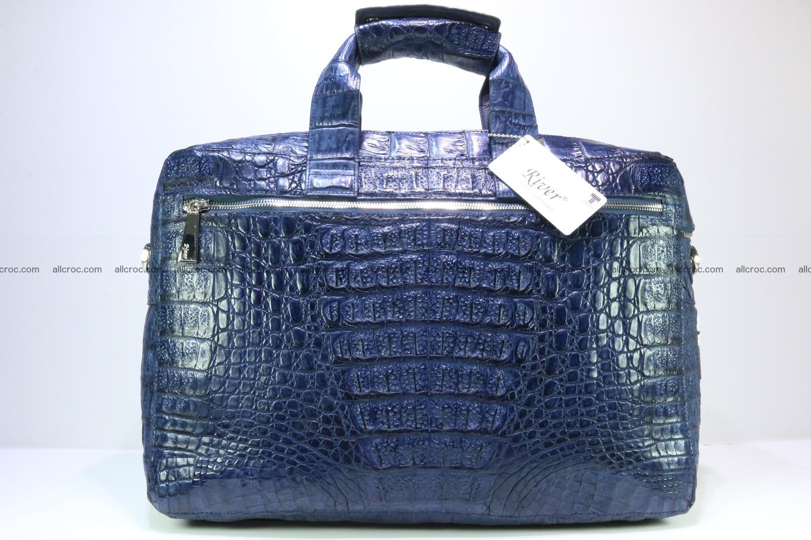 Crocodile skin handbag 423 Foto 6