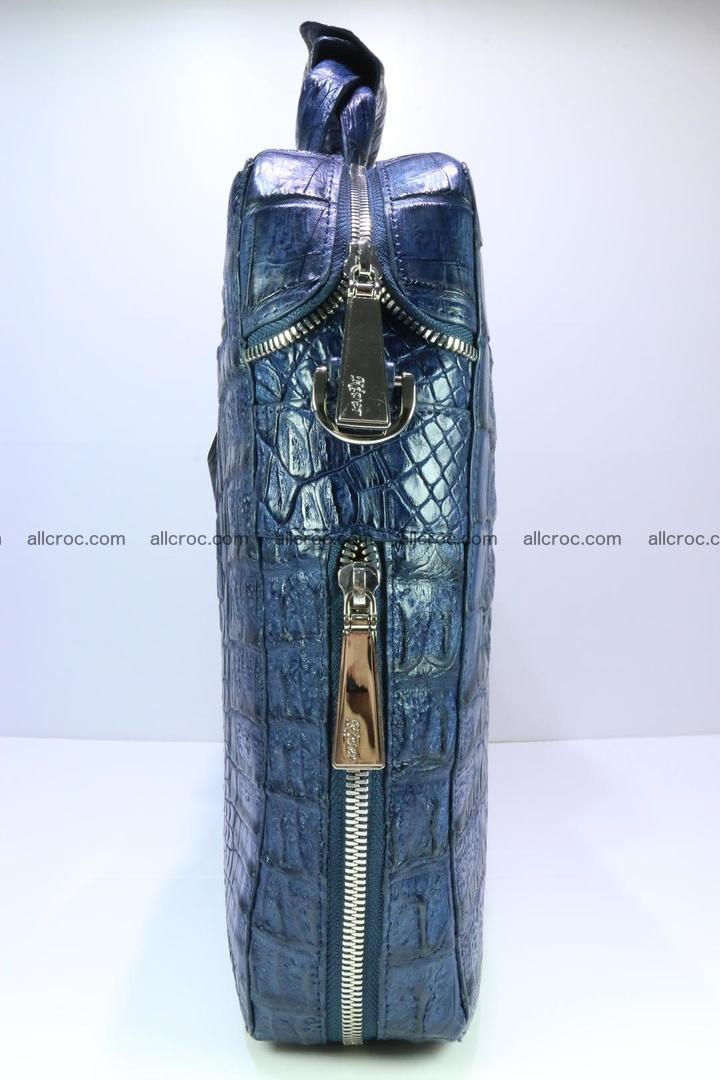 Crocodile skin handbag 423 Foto 4