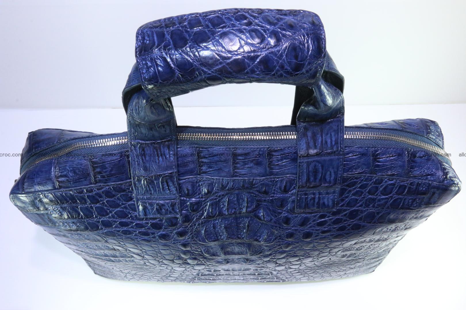 Crocodile skin handbag 423 Foto 5