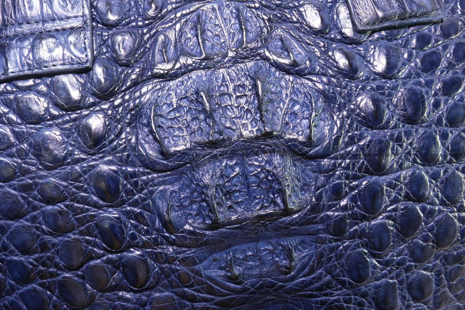 Crocodile skin handbag 423 Foto 9