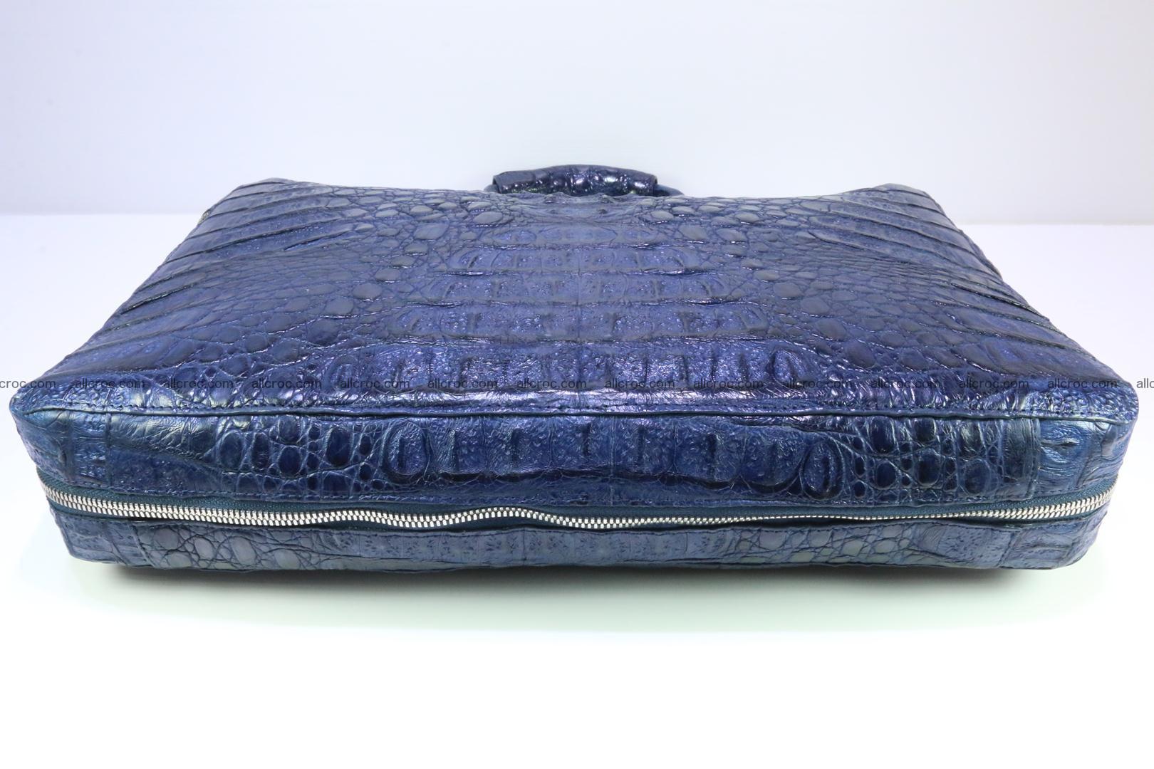 Crocodile skin handbag 423 Foto 8