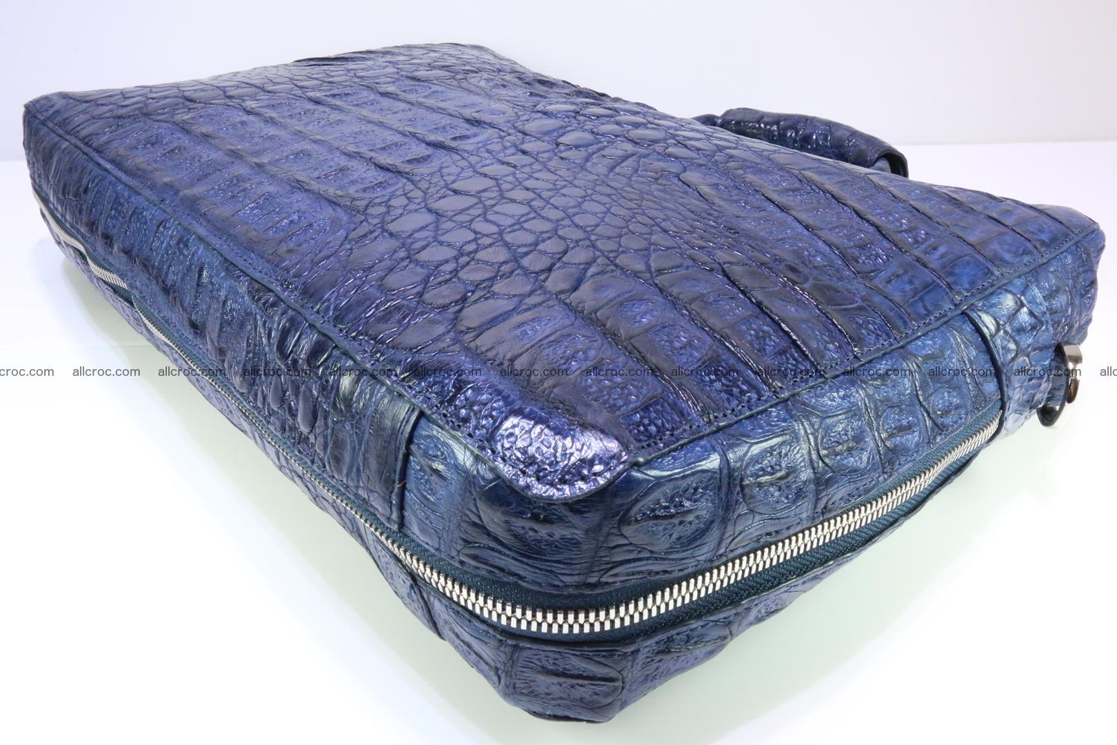 Crocodile skin handbag 423 Foto 10