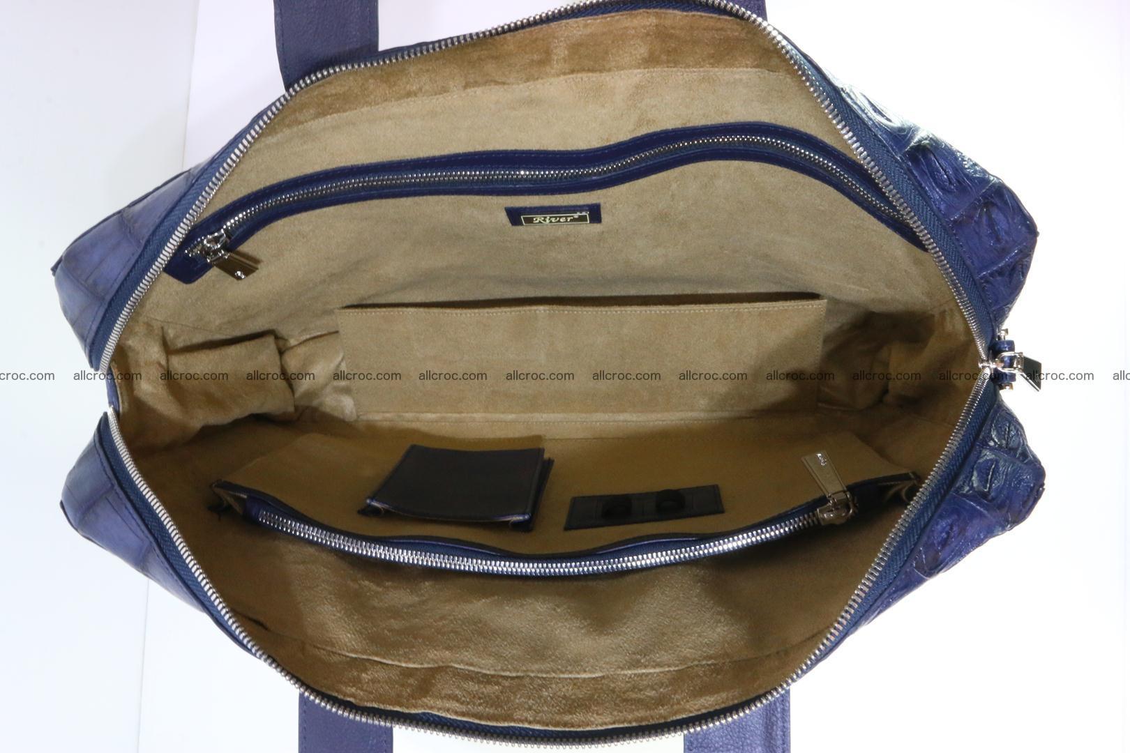 Crocodile skin handbag 423 Foto 12