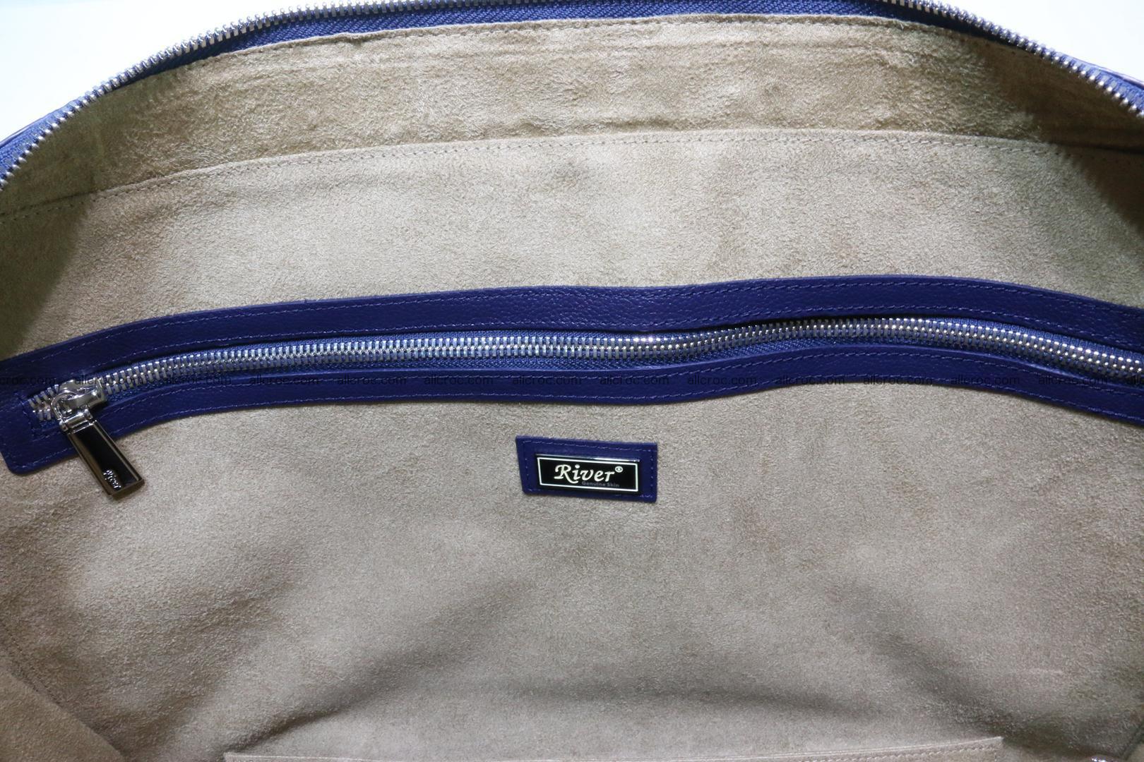 Crocodile skin handbag 423 Foto 13