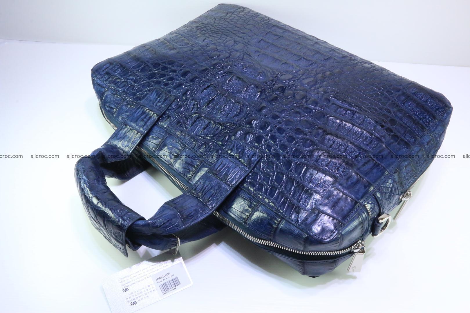 Crocodile skin handbag 423 Foto 7