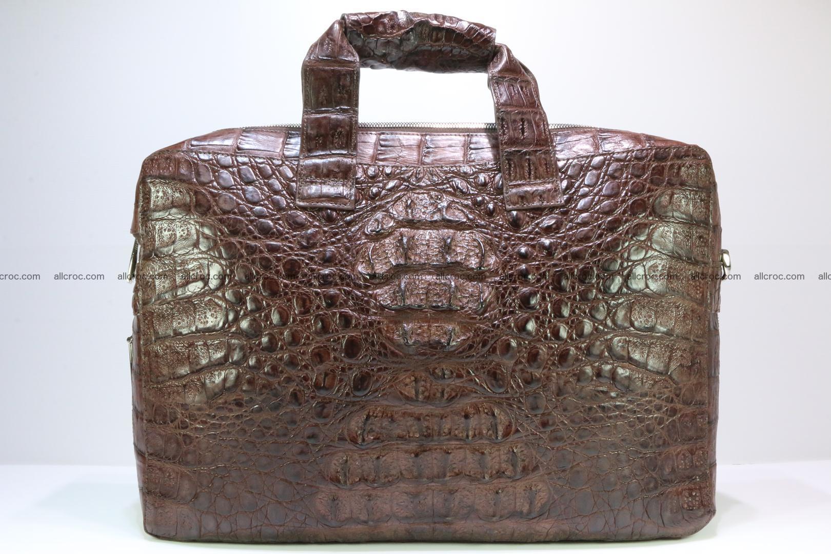Crocodile skin handbag 126 Foto 0