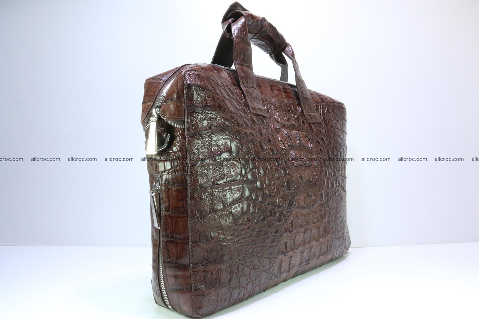 Crocodile skin handbag 126 Foto 2