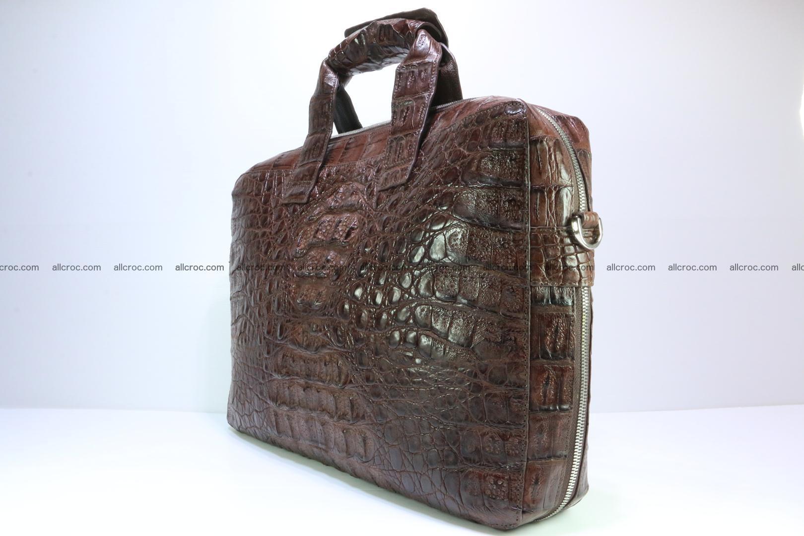 Crocodile skin handbag 126 Foto 3