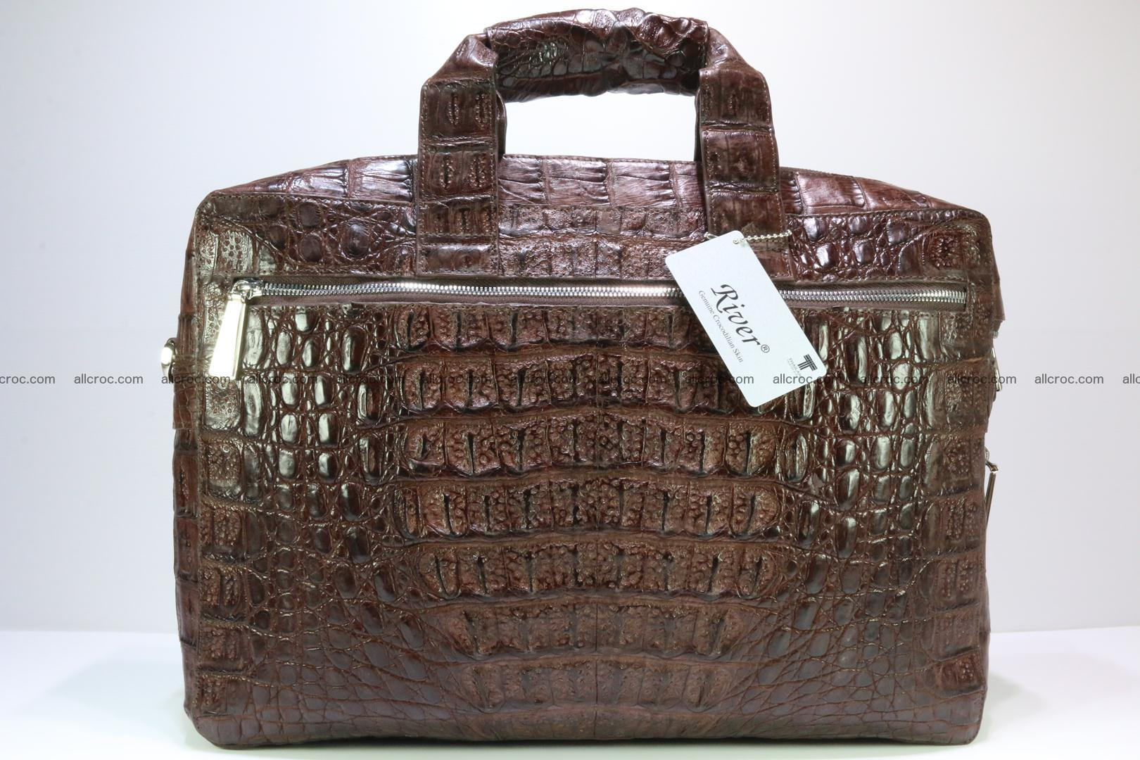 Crocodile skin handbag 126 Foto 1