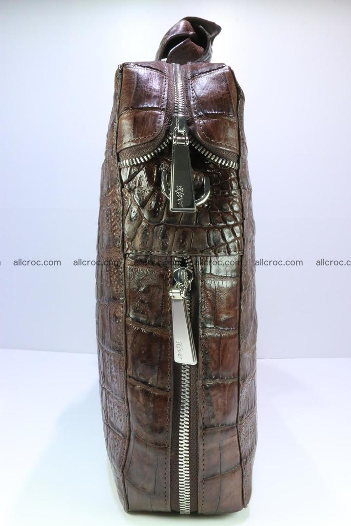 Crocodile skin handbag 126 Foto 6