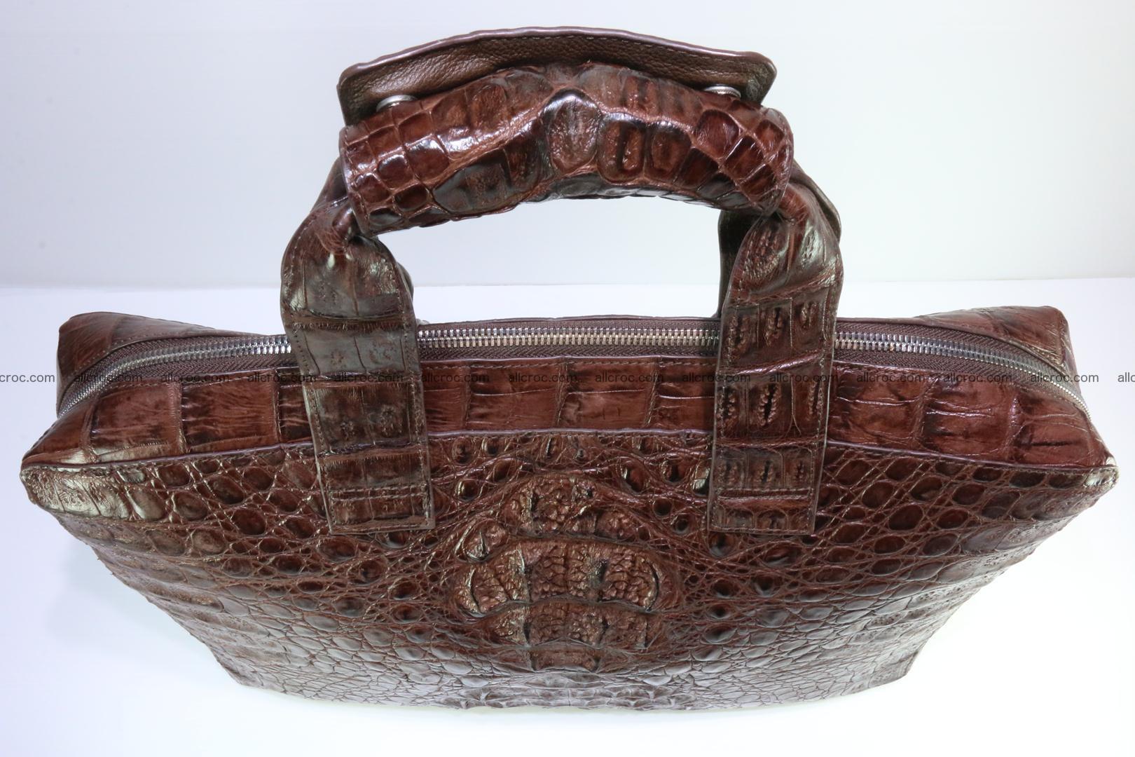 Crocodile skin handbag 126 Foto 9