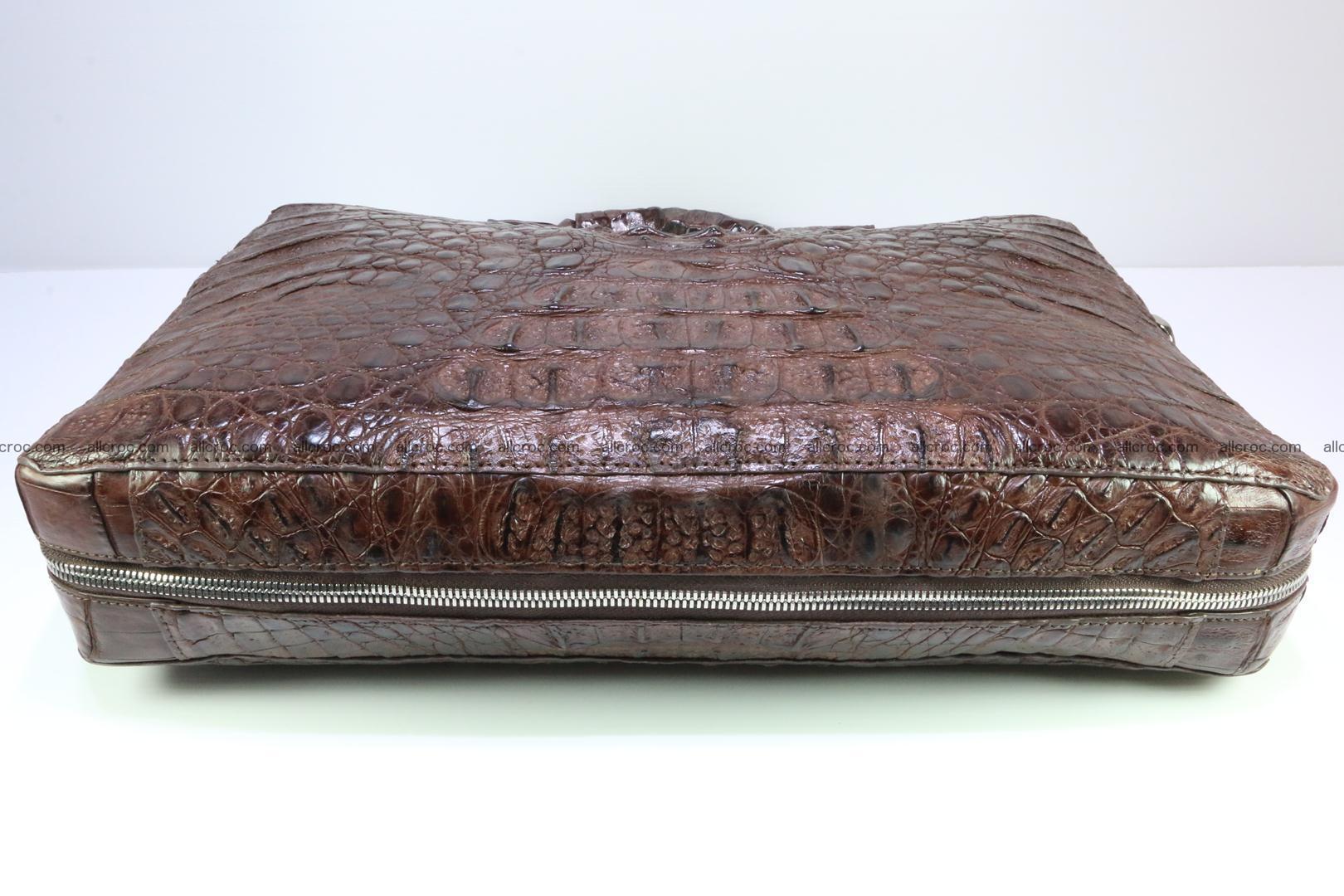 Crocodile skin handbag 126 Foto 8