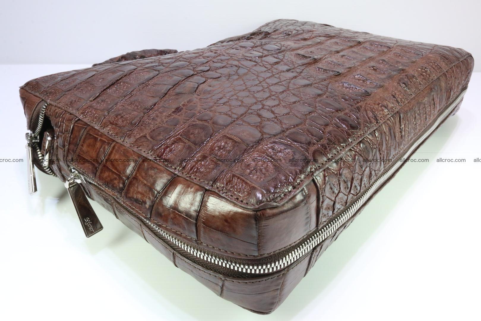 Crocodile skin handbag 126 Foto 10