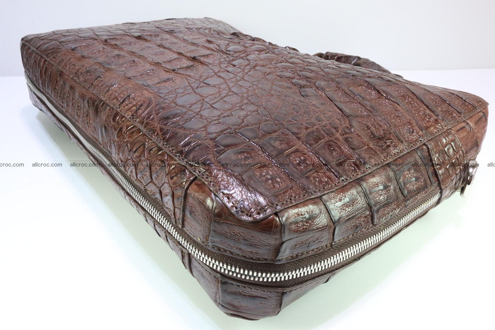 Crocodile skin handbag 126 Foto 11