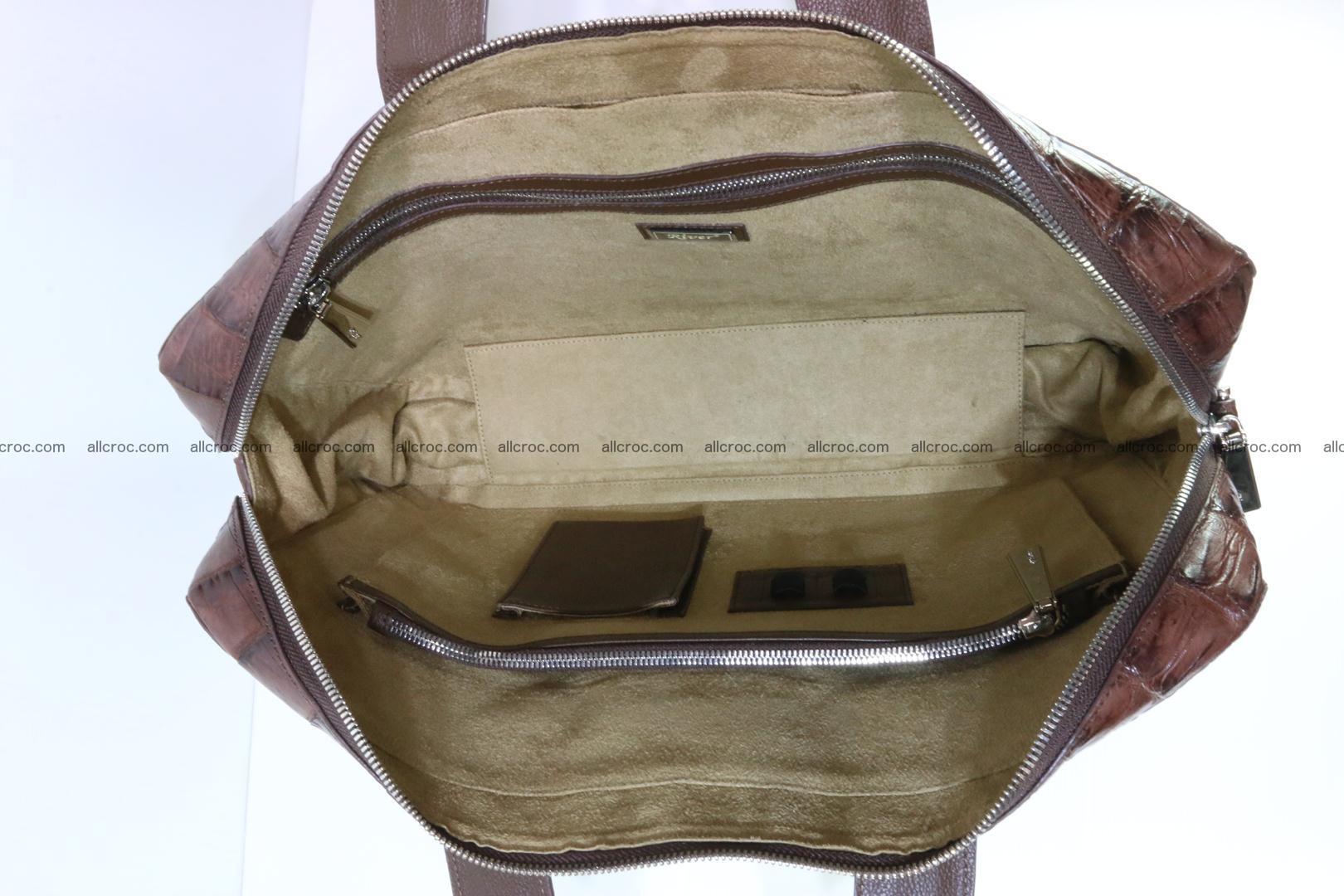 Crocodile skin handbag 126 Foto 14