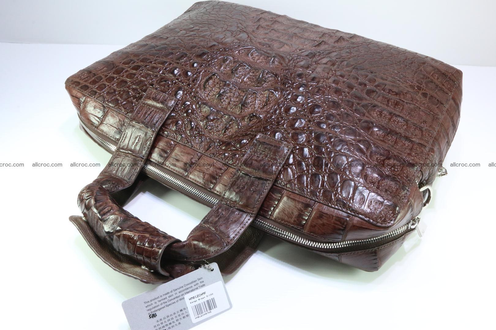 Crocodile skin handbag 126 Foto 7