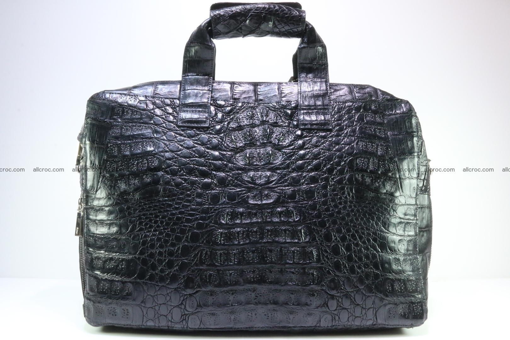 Crocodile skin handbag 127 Foto 0