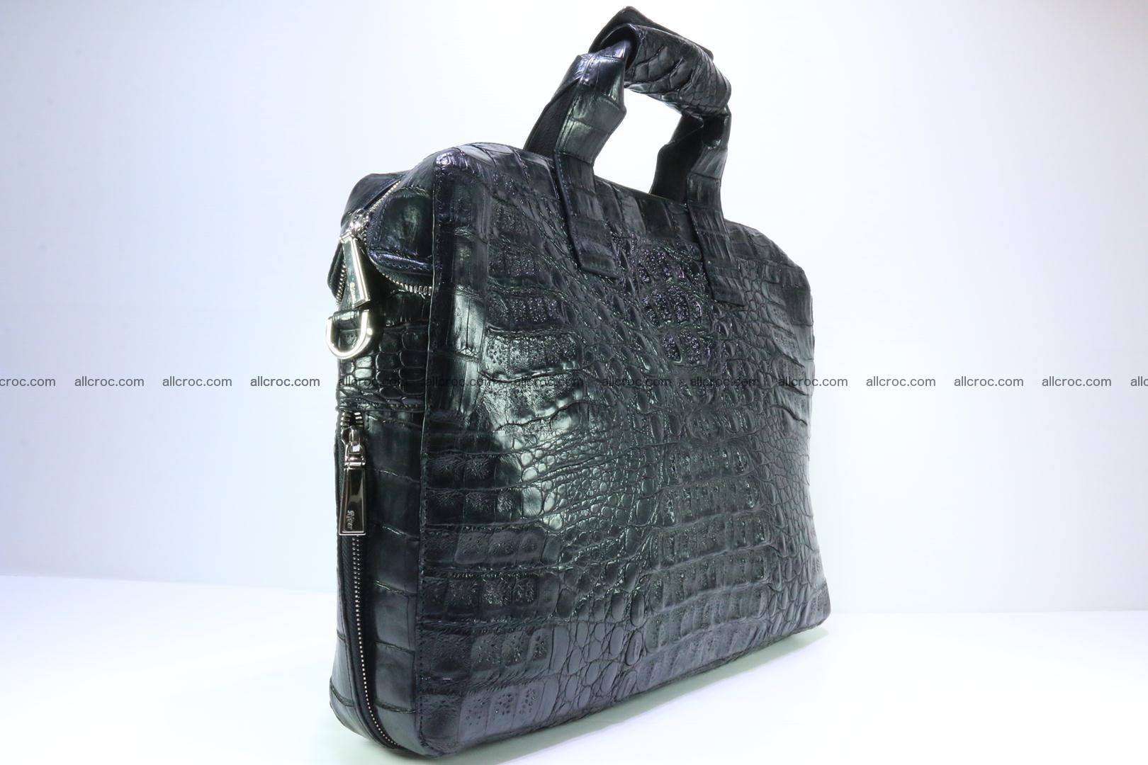 Crocodile skin handbag 127 Foto 2
