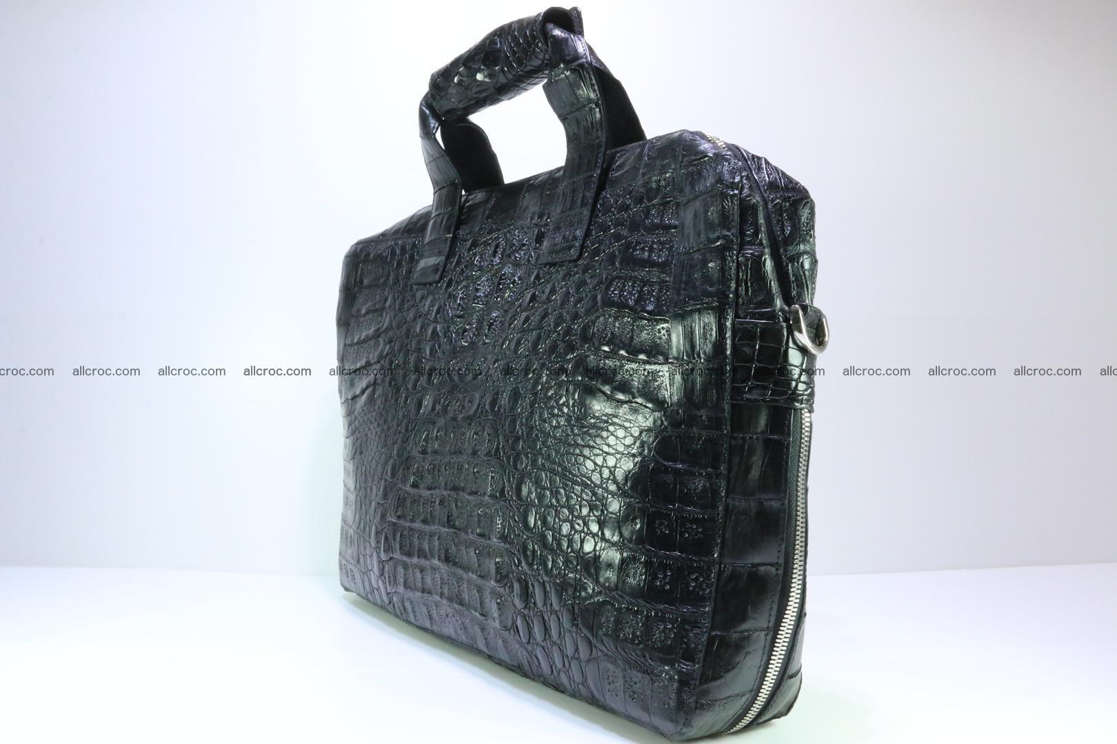 Crocodile skin handbag 127 Foto 3